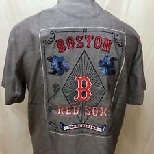 NWT Tommy Bahama Boston Red Sox Embroidered Hawaiian Shirt Sz Small Baseball
