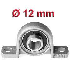 Miniatura soporte recto para Ø 12mm Eje Rodamiento a Rótula de CARCASA