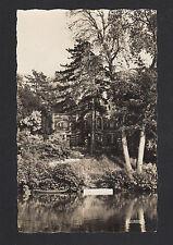"""NOGENT-sur-SEINE (10) BARQUE à la VILLA """"MON BUISSON"""" , Bords de SEINE en 1960"""