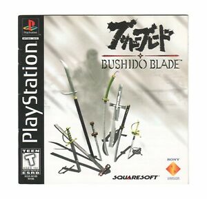 Bushido Blade (Sony PlayStation 1) PS1 Manual ONLY Free Shipping