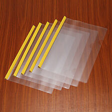General 5Pcs Push Clip Paper File Folder Document A4 Size Office & Study Home