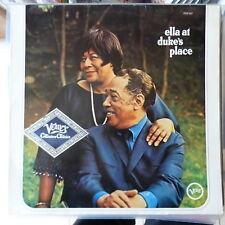 FITZGERALD/ELLINGTON LP ELLA AT DUKE'S PLACE GERMANY REISSUE VG++/EX