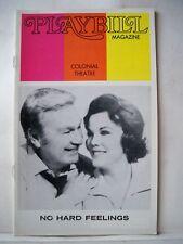 NO HARD FEELINGS Playbill EDDIE ALBERT / NANETTE FABRAY Tryout BOSTON 1973