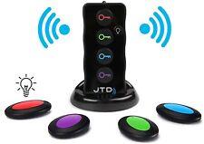 Jtd Wireless Rf Item Locator/Key Finder with Led Flashlight