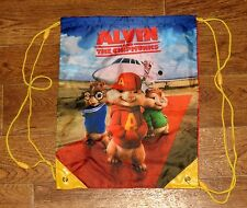Alvin & The Chipmunks Movie Polyester Drawstring Bag/Backpack/School Tote