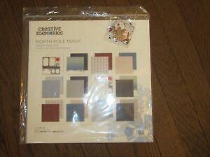 Creative Memories Scrapbooking Kit Paper Embellishment North Pole Magic