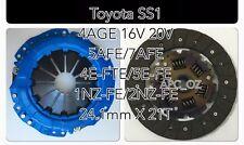 APC Toyota SS1 Clutch Kits 4AGE 16V 20V 5A/7AFE 4EFTE 5EFE 1ZZ 2ZZ 1NZ & 2NZ
