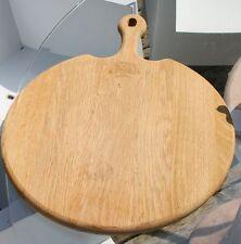 Holzbrett Fleischrett Oak Eiche Brett Fleischplatte massiv schwer Eichenbaum