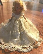 Vtg Early 1950s Nancy Ann Storybook Doll February Girl Wrist Tag