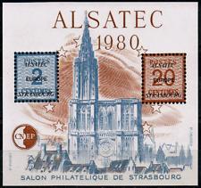 TIMBRE FRANCE BLOC CNEP n°1 NEUF** ALSATEC (salon philatélique de Strasbourg)