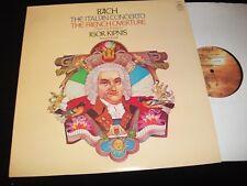 BACH ° ITALIAN CONCERTO<>IGOR KIPNIS<>LP Vinyl~US Pressing<>ANGEL S-36096