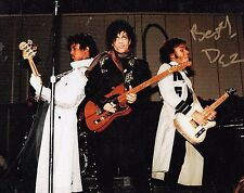Dez Dickerson Guitarist-Songwriter Signed  8x10 Photo With Prince With COA