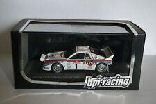 miniature lancia 037 n°1 1985 sanremo hpi-racing au 1/43-P9.53