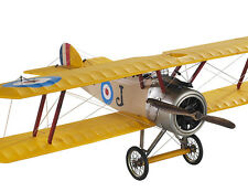 "Desk Top WWI Sopwith Camel Biplane Wood Model Plane 10"" Airplane New"