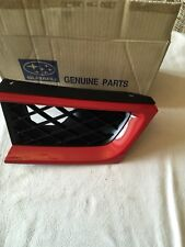 NEW GENUINE SUBARU IMPREZA LEFTHAND SIDE FRONT GRILL IN FACTORY RED