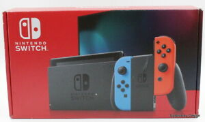 *NEW* Nintendo Switch HAD S KABAA USZ Gaming Console Blue/Red