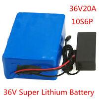 Li-ion Battery 36V 20AH Volt Rechargeable Bicycle 500W E Bike Electric Li-ion