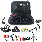 30in1 Head Chest Mount Floating Monopod Accessories For GoPro Hero 3 4 5 Camera