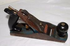 Vtg STANLEY #4 Bench WOOD Planer PLANE Solid Condition UNUSUAL TOOL Plastic Grip