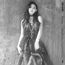 "SJ7shop [TAEYEON] ""MY VOICE"" 1st Album CD+Photo Book+Card+Poster"