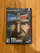WWE SmackDown vs. Raw (Sony PlayStation 2, 2004) Complete with manual