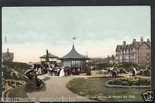 Lancashire Postcard - Bandstand and Shelter, St Annes On Sea  RS1238