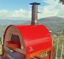 Portable wood fired pizza oven Maximus Red SPECIAL