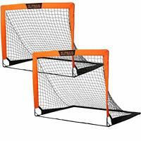 Portable Soccer Goal   Instant Pop Up Net   Fiberglass Poles, Sets of 2