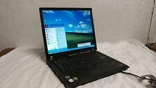 "IBM Thinkpad T60 Laptop Windows XP Pro Operating system MS Office 2007 WiFi 15"""