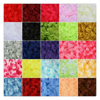 500/1000PCS Wedding Party Decoration  Flowers Silk Rose Petals Table Confetti