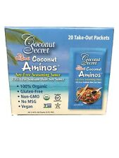 New listing The Original Coconut Aminos by Coconut Secret 20 Individual Packets
