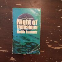 1974 Night Of Delusions by Keith Laumer Berkley Medallion Edition Paperback