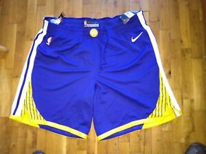 Golden State Warriors NBA basketball shorts Nike aeroswift aerodinamic sz 50 NWT