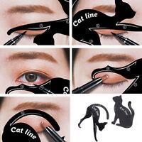 2pcs Cat Eye Line Eyeliner Stencil Models Template Eyes Shaper Makeup Tools E