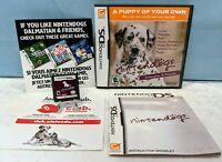 Nintendogs: Dalmatian & Friends (Nintendo DS, 2006) Complete - Tested & Working