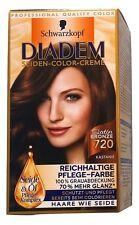 Schwarzkopf Diadem Satin Bronze 720 Kastanie Haarfarbe 100% Grauabdeckung