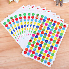 10Pcs/Pack Children Faces Reward Stickers School Teacher Merit Praise QW