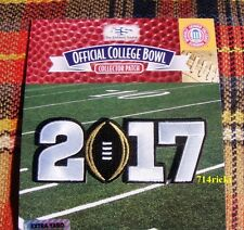 Official 2017 College Football Championship Game Patch Alabama Crimson Tide