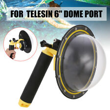 "TELESIN 6"" Dome Port Underwater Diving Lens Cover Case for GoPro Hero 5 6 7 Cam"