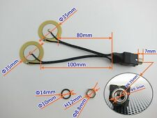 35mm Piezo with 6.3mm Jack - drum trigger for DIY electronic drum