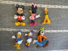 Mickey Mouse clubhouse figure toy playset Disney Minnie Donald Goofy Daisy Pluto