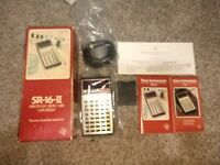 Texas Instruments SR-16-II electronic slide-rule calculator