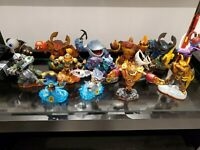 Skylanders Large Lot 71 Pieces + 3 Portals + 3 3DS Games - Giants, Spyro, Swap