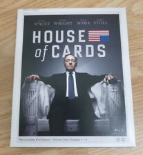 HOUSE OF CARDS - THE COMPLETE FIRST SEASON SERIES ONE 1 - BLU RAY