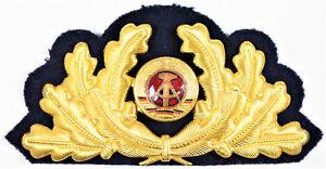 DDR NVA VM Mützenkranz General Admiral Volksmarine 2-teilig SELTEN!!! 3978