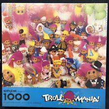 Springbok by Hallmark Troll Mania Puzzle 1000 PC 24 X 30 Russ Berrie 1992