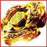 Beyblade 4D DF105LRF Top Rapidity Metal Fusion Fight Master Gold L-Drago Toys