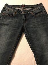 Bebe Women's Skinny Jeans Women's Distressed Stretch Size 27 X 32