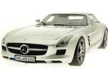 NOREV 2010 Mercedes-Benz SLS AMG Coupé Grey Metallic 1:18 New Item!