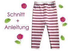 Schnitt+ Nähanleitung Leggings für Babys + Kleinkinder als Ebook